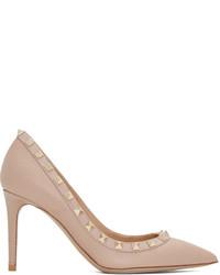 Pink rockstud heels medium 3646005