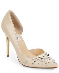 Steve Madden Studded Leather Point Toe Pumps