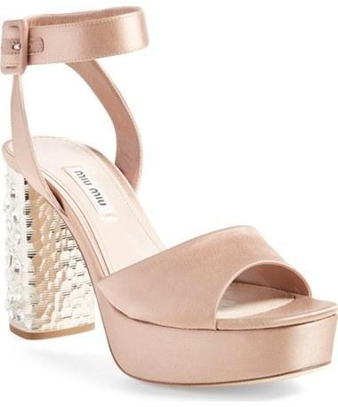 c7230c89b42c ... Sandals Miu Miu Studded Block Heel Platform Sandal ...