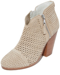 Margot perforated booties medium 3658229
