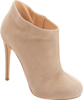 9de9917d1c1 $495, Barneys New York Short Platform Ankle Boot Nude