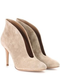 Gianvito Rossi To Mytheresacom Vamp 85 Suede Ankle Boots