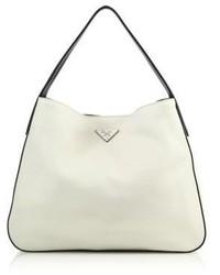 Prada Daino Bicolor Hobo Bag