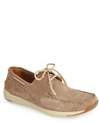 Reaction kenneth cole met ro station suede boat shoe medium 229587