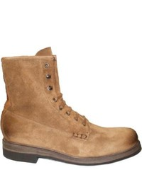 Neil M Ike Tan Suede Boots