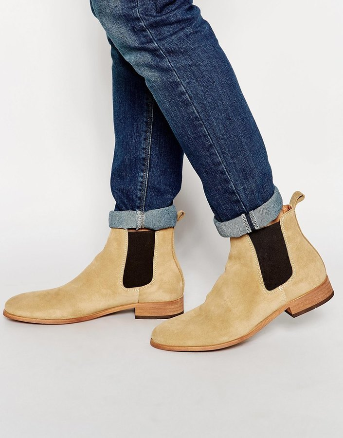 Shoe The Bear Suede Chelsea Boots, $211