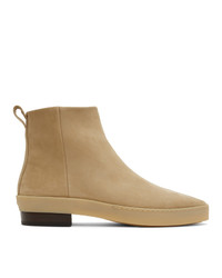 Fear Of God Tan Nubuck Chelsea Boots