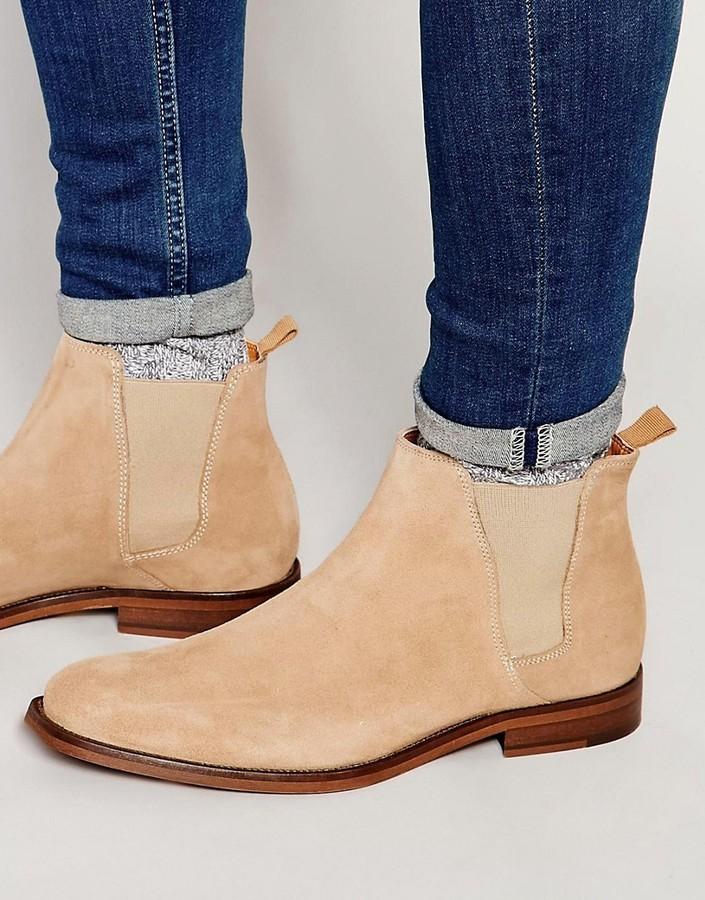 Aldo Vianello Suede Chelsea Boots, $147