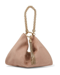 Jimmy Choo Callie Suede Shoulder Bag