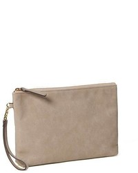 Old Navy Faux Leather Clutch For