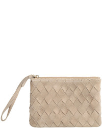 H&M Suede Clutch Bag