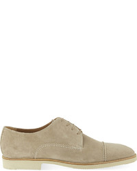 Stemar Derby Half Lined Suede Shoes