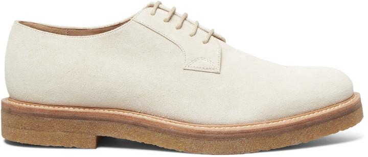... Dries Van Noten Suede Derby Shoes ... a5f2bd0db