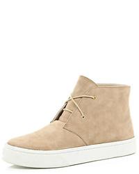 Beige suede desert boots medium 123991