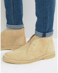 Dune Calabassas Suede Desert Boots