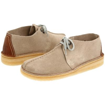 Clarks Desert Trek Shoes Sand Suede