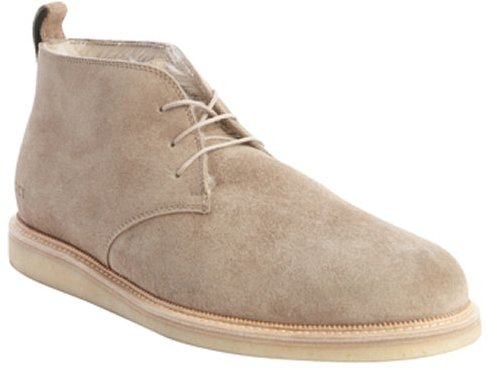 Gucci Pale Khaki Suede Shearling Lined Chukka Boots | Where to buy ...