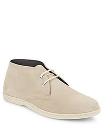 Salvatore Ferragamo Rico Suede Chukka Boots Available In Extended Sizes