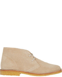 Barneys New York Suede Chukka Boots