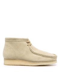 Clarks Wallabee Lace Up Suede Boots