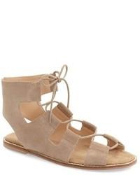 Cady lace up flat sandal medium 4418311