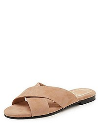 Dolce Vita Suede Slip On Sandals