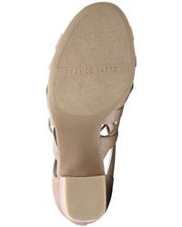 0c3899dec741 ... Franco Sarto Meena Block Heel Lace Up Sandals Shoes ...
