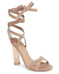 Komma translucent heel sandal medium 4381329