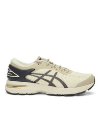 Asics Off White And Grey Reigning Champ Edition Gel Kayano 25 Sneakers