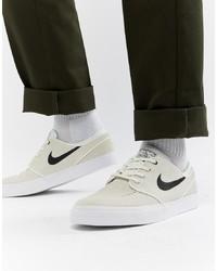 total no terciopelo  Nike SB Zoom Stefan Janoski Trainers In Beige 333824 107, $25   Asos    Lookastic