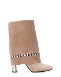 Casadei Foldover Top Boots