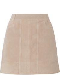 Suede mini skirt medium 656403