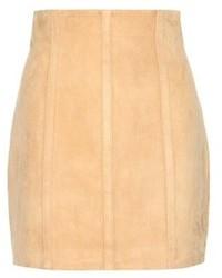 Suede miniskirt medium 656404