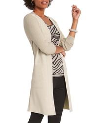 Nic+Zoe Royal Impression Faux Suede Knit Jacket