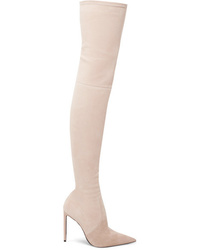 Tom Ford Stretch Suede Over The Knee Boots