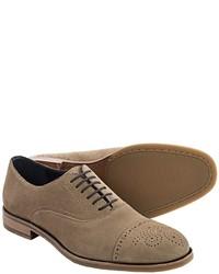 Johnston & Murphy Burrell Oxford Shoes  Cap Toe