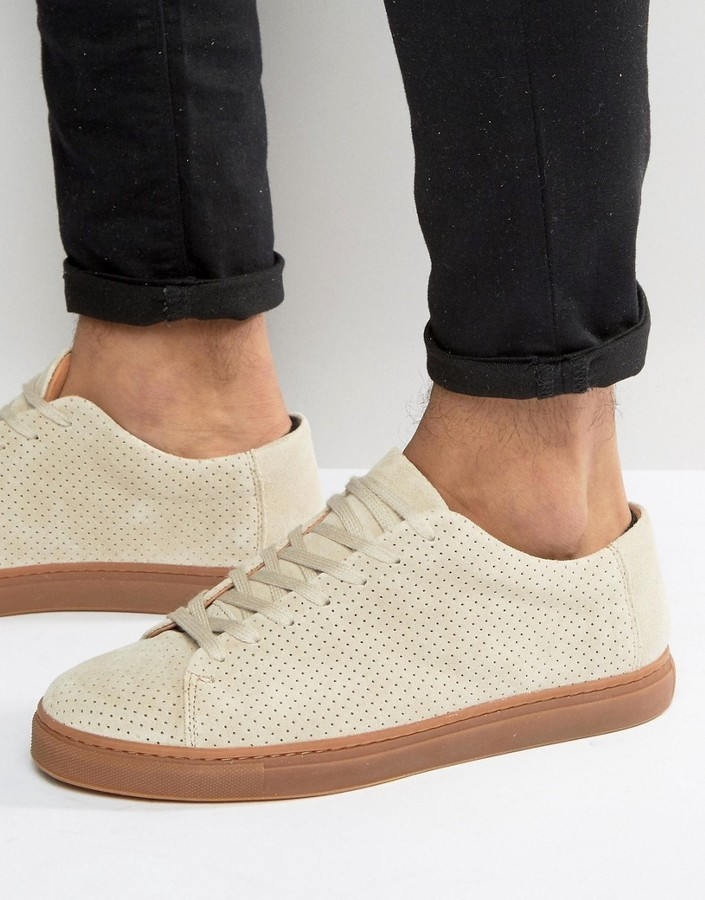 Selected Homme David Perforated Suede