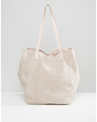 Suede slouch shopper bag medium 3708292