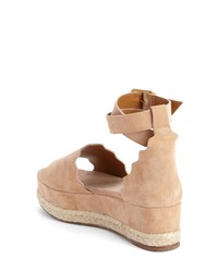 Chloé Lauren Espadrille Wedge Sandal