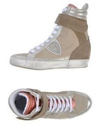 Philippe Model High Tops Trainers