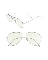 CUTLER AND GROSS 58mm Polarized Aviator Sunglasses