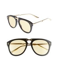 Gucci Big Rivets 56mm Aviator Sunglasses