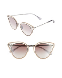 Jimmy Choo Dhelias 48mm Cat Eye Sunglasses