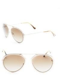 Tom Ford Eyewear 53mm Aviator Sunglasses