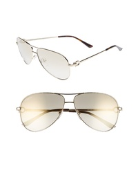 Salvatore Ferragamo Gancio 62mm Aviator Sunglasses