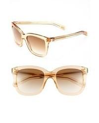 Marc Jacobs 53mm Retro Sunglasses Beige One Size