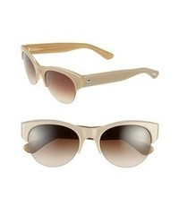 Oliver Peoples Louella 55mm Sunglasses Beige One Size