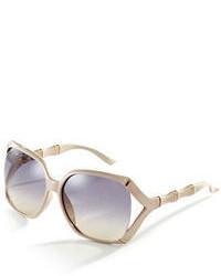 Gucci Oversized Textured Sunglasses