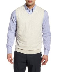 Beige Sweater Vest