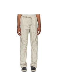 Fear Of God Off White Logo Baggy Lounge Pants